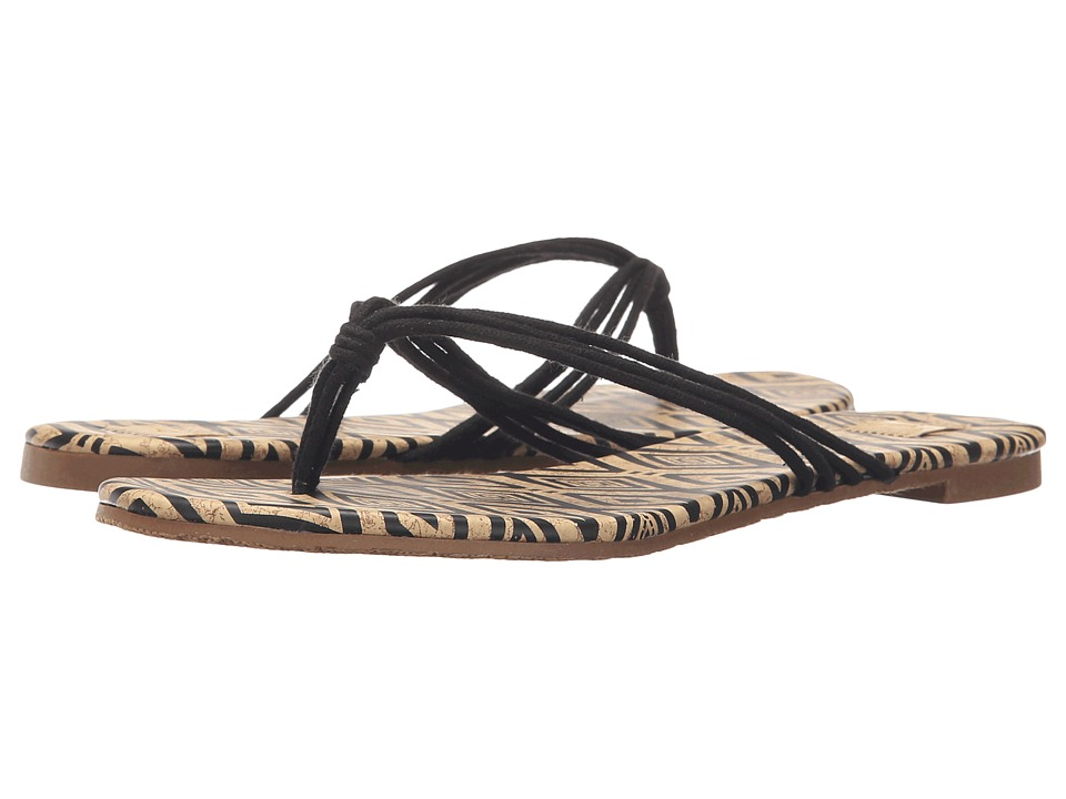 Roxy Alana Black Womens Sandals