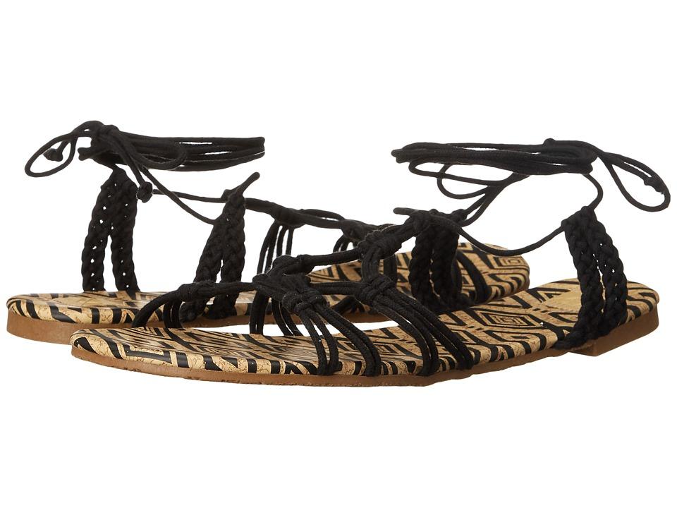Roxy Mari Black Womens Sandals