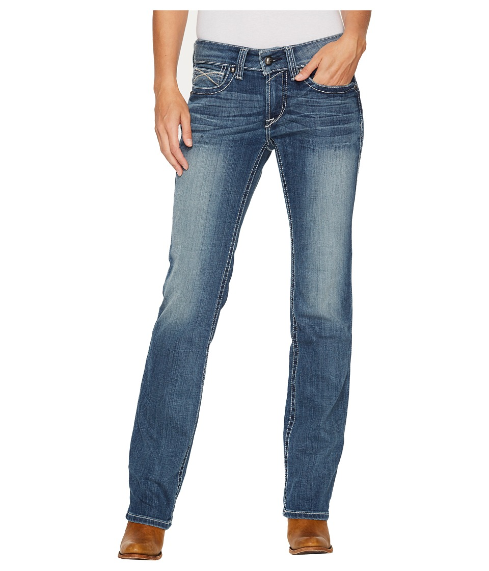 Ariat - R.E.A.L.tm Straight Icon Jeans in Rainstorm