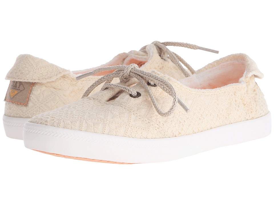 Roxy Kayak White/White Womens Slip on Shoes