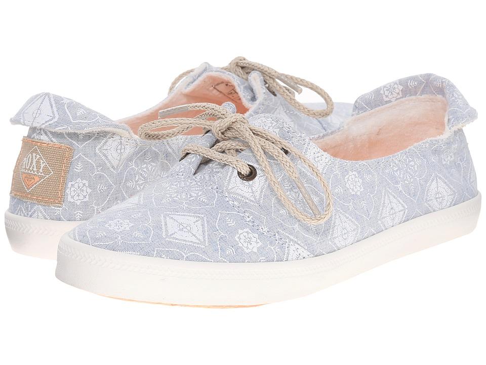Roxy Kayak Blue Womens Slip on Shoes