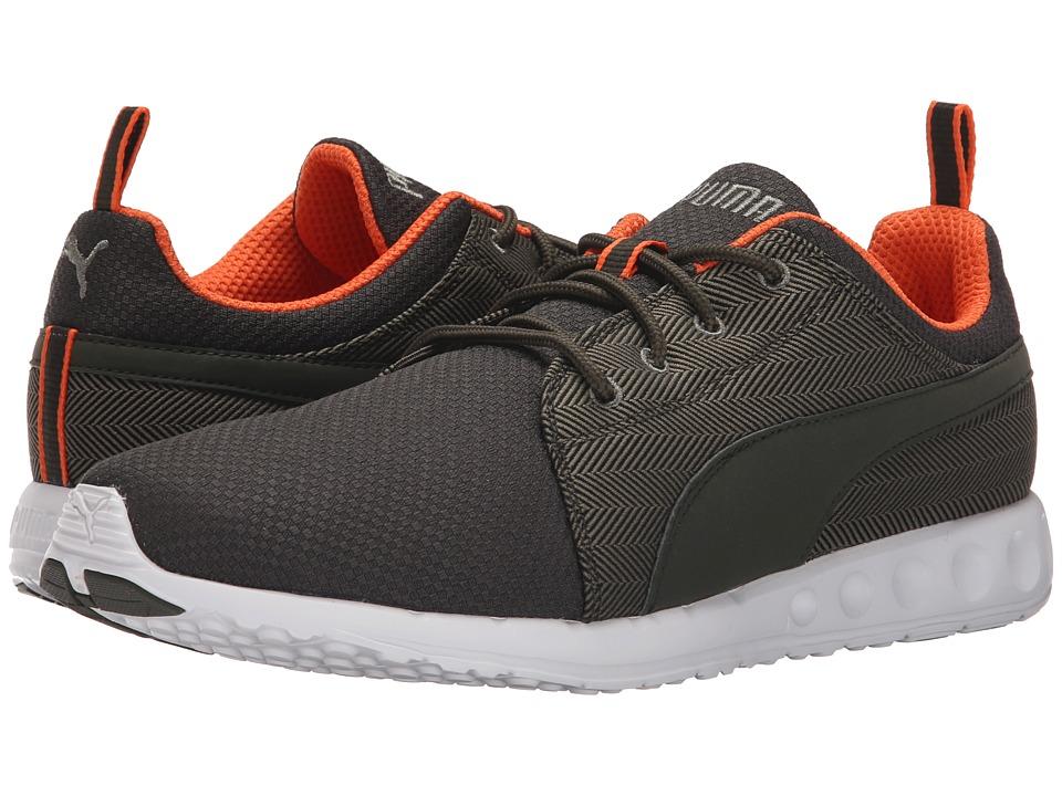 PUMA Carson Runner Herring Burnt Olive/Forest Mens Shoes