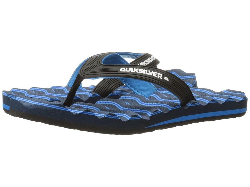 Quiksilver - Massage (Black/Blue/Blue) Men
