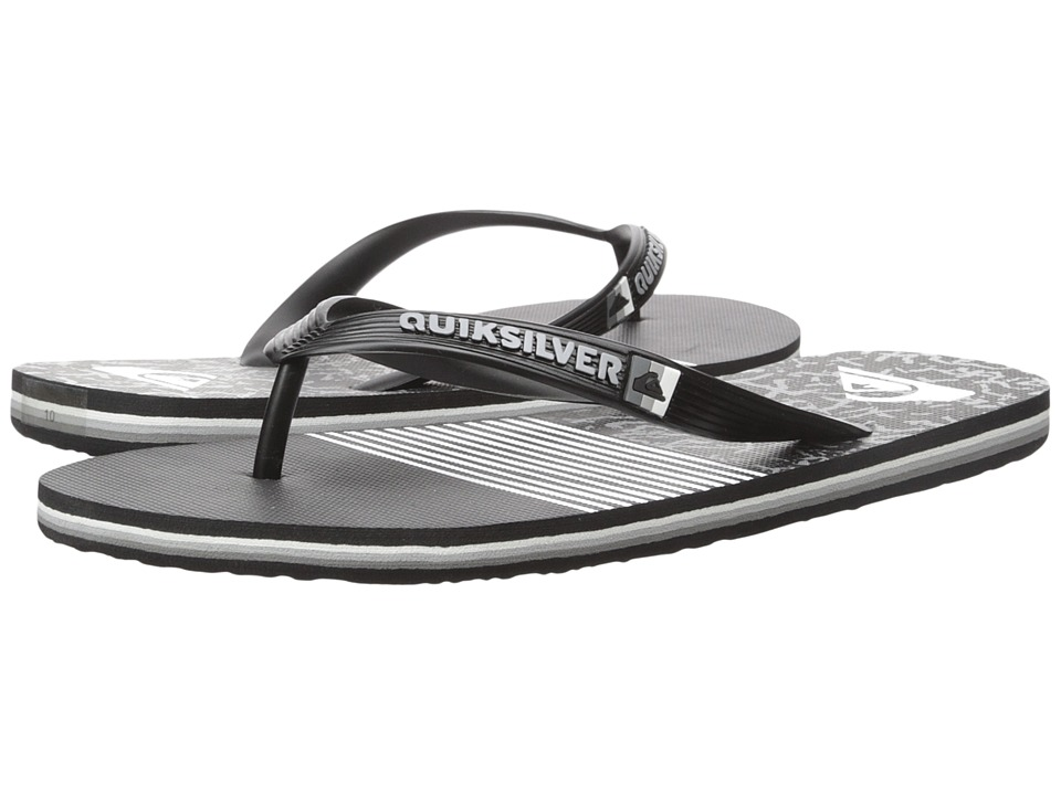 Quiksilver - Molokai Remix (Black/Black/White) Men