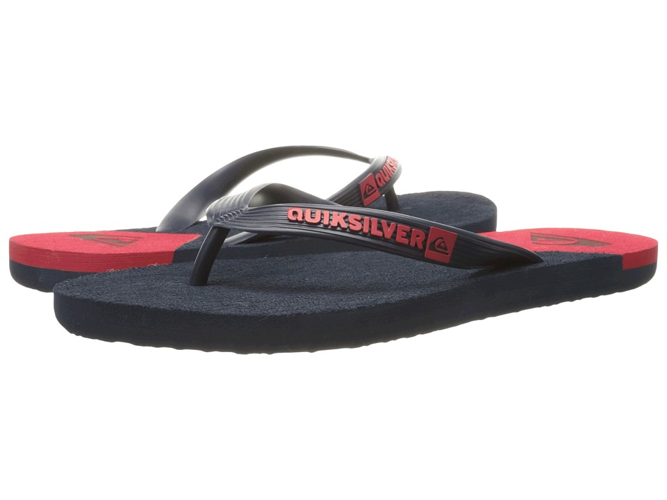 Quiksilver - Molokai New Wave (Blue/Red/Blue) Men