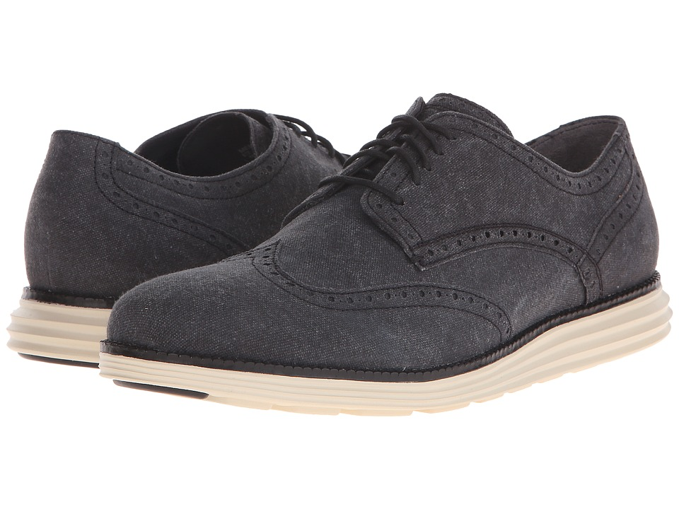 Cole Haan - Original Grand Wingtip (Black/White) Men