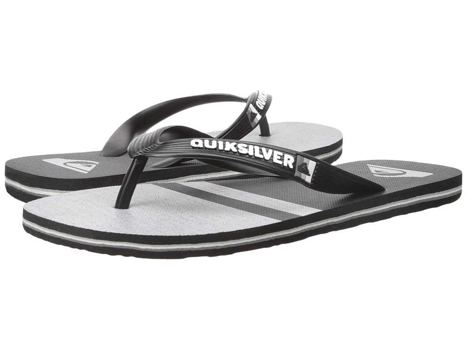 Quiksilver - Molokai Stomp (Black/Black/Grey) Men