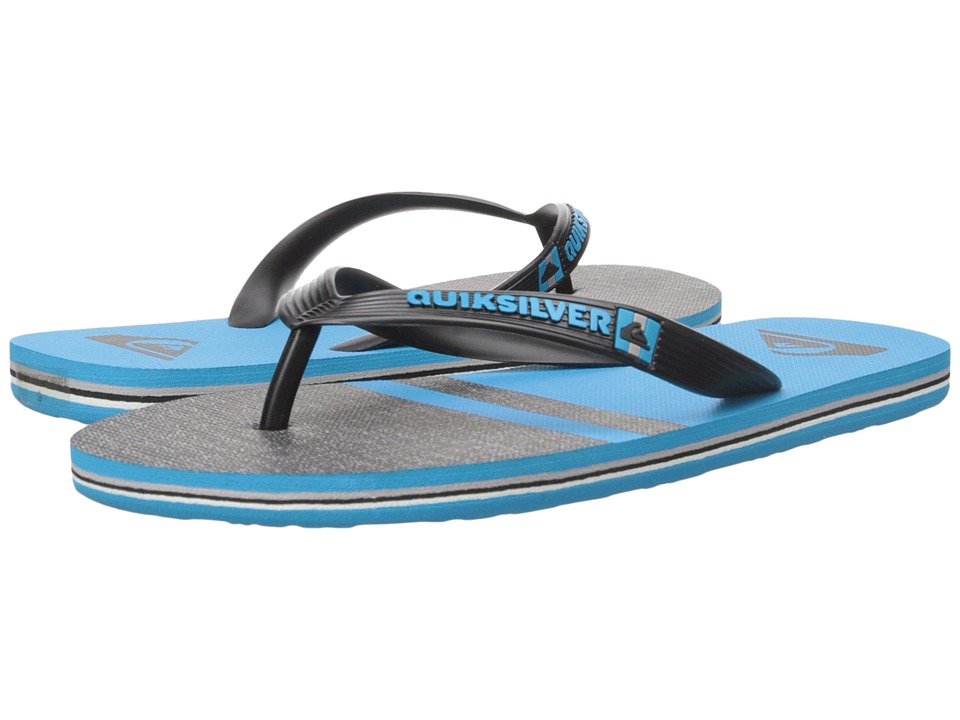Quiksilver - Molokai Stomp (Black/Blue/Black) Men