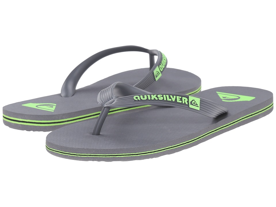 Quiksilver - Molokai (Grey/Green/Grey) Men