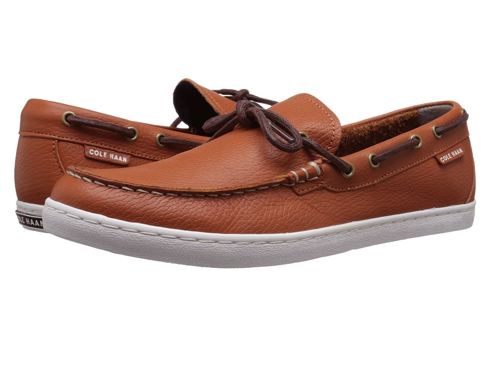 Cole Haan Pinch Weekender Camp Moc British Tan Mens Slip on Shoes