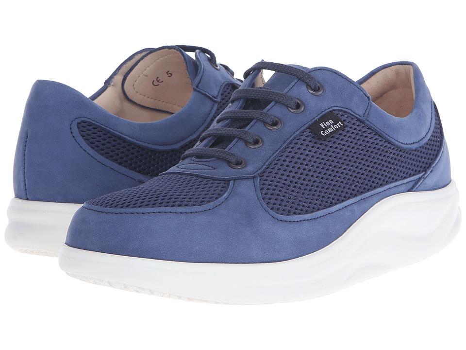 Finn Comfort Columbia (Blue) Women's Shoes