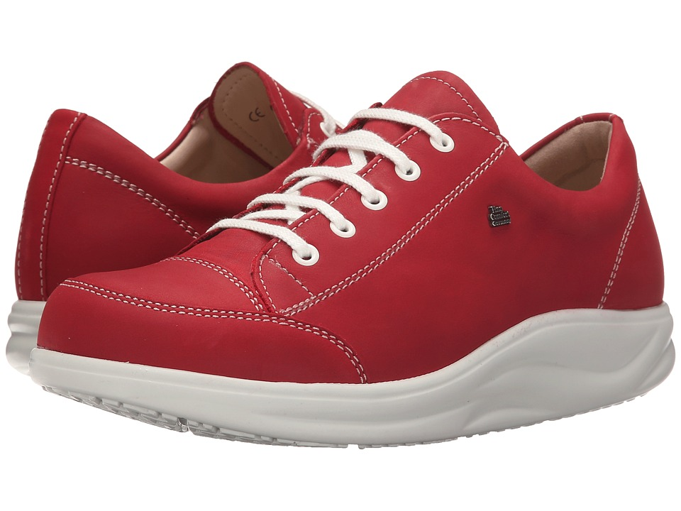 Finn Comfort Ikebukuro Indian Red Womens Lace up casual Shoes