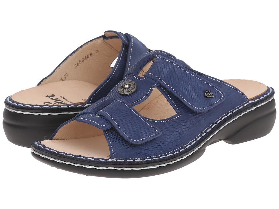 Finn Comfort Pattaya 2558 River Blue Womens Sandals