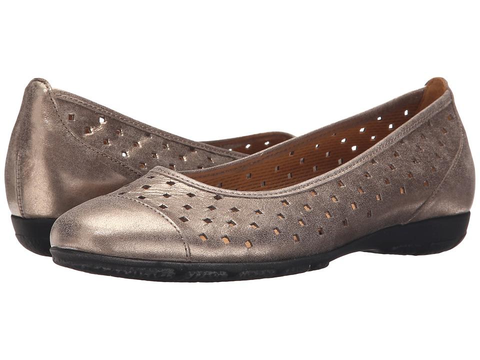 Gabor Gabor 44.169 Mutaro Metallic Eclisse Womens Flat Shoes