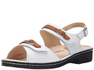 Finn Comfort - Sasso (White/Brown)