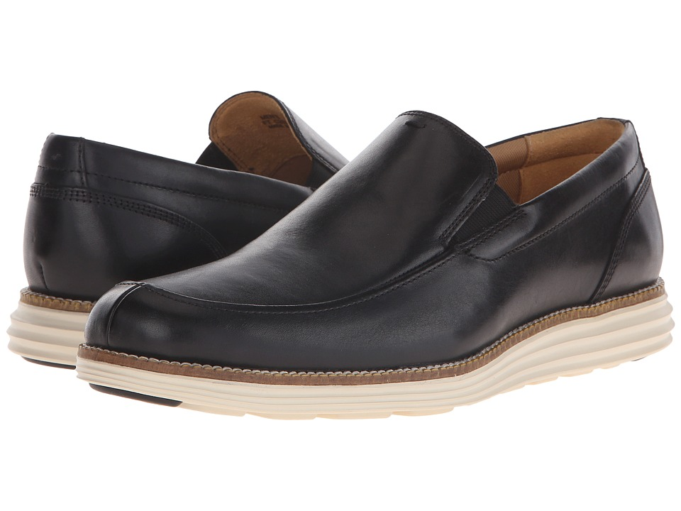 Cole Haan Original Grand Venetian (Black/White) Men