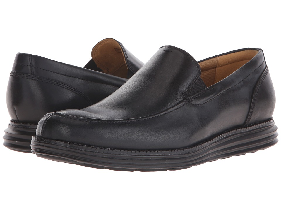 Cole Haan Original Grand Venetian (Black/Black) Men