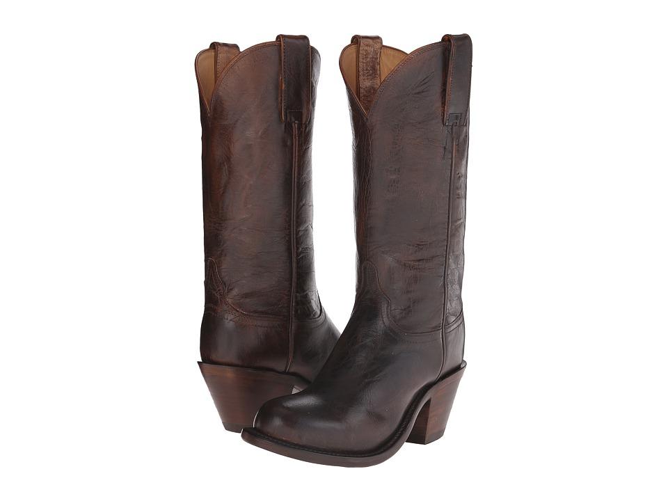 Lucchese Britton (Pearl Bone) Cowboy Boots