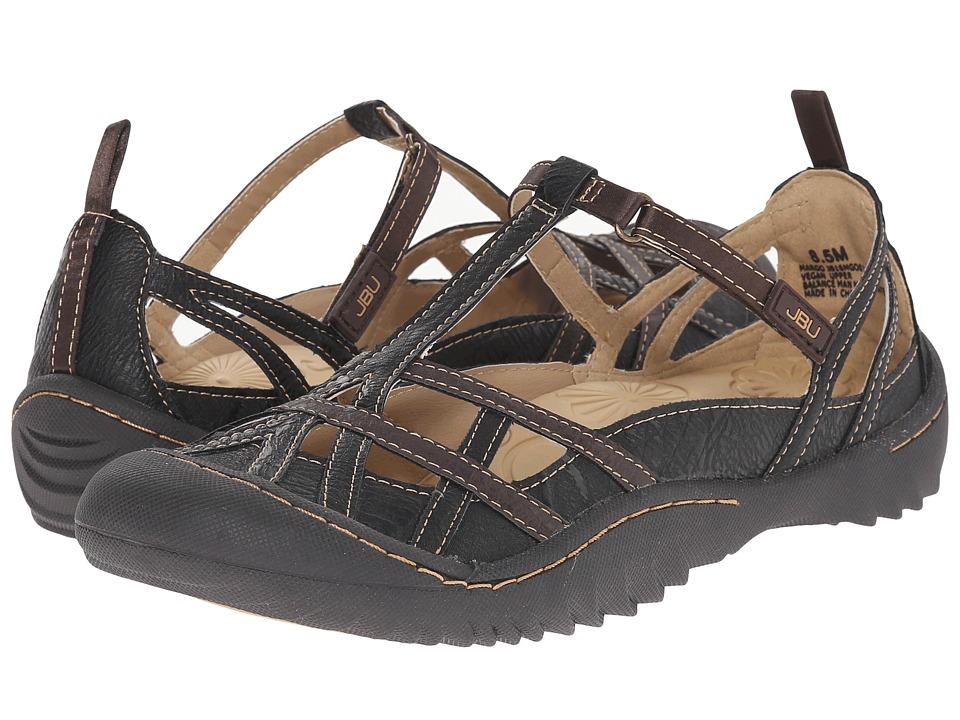 JBU Margo Black Earth Womens Shoes