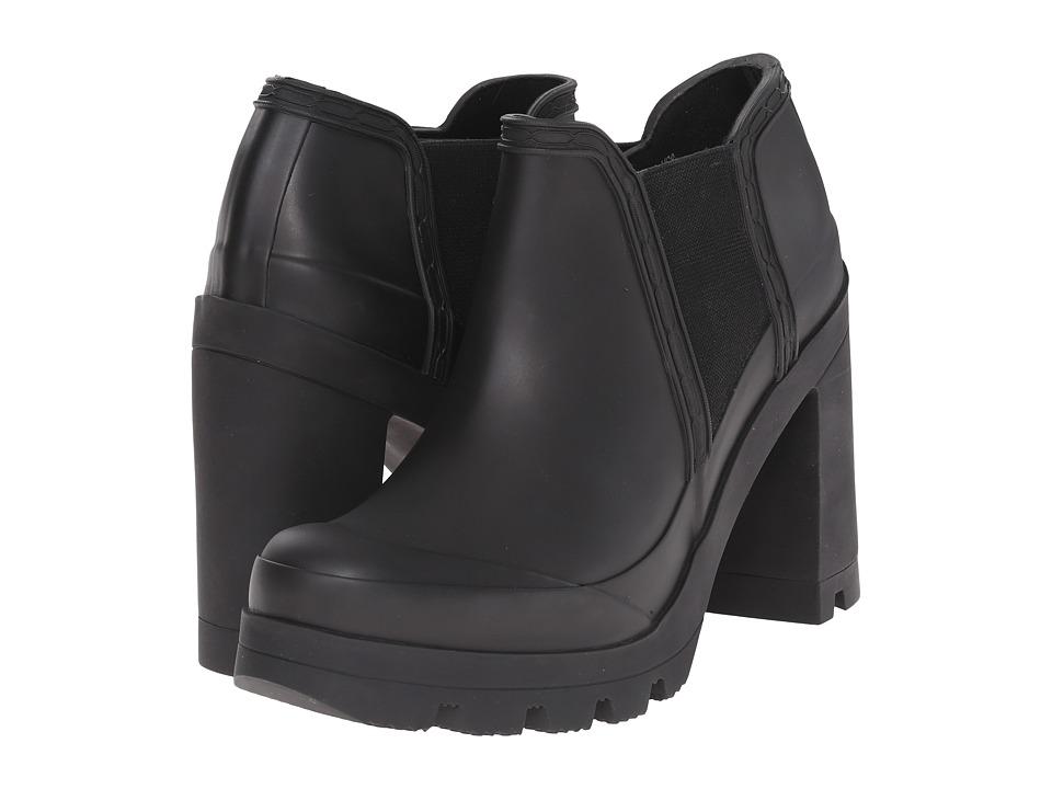 Hunter - Original High Heel Shoe (Black) Women