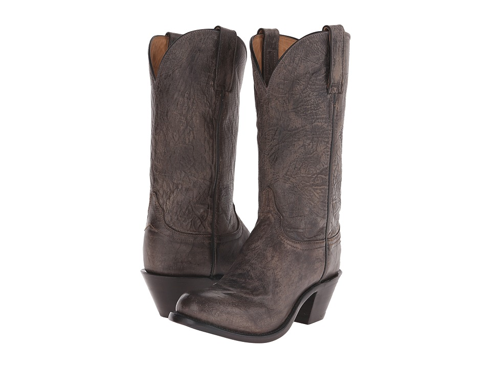 Lucchese - Britton (Anthracite Grey) Cowboy Boots