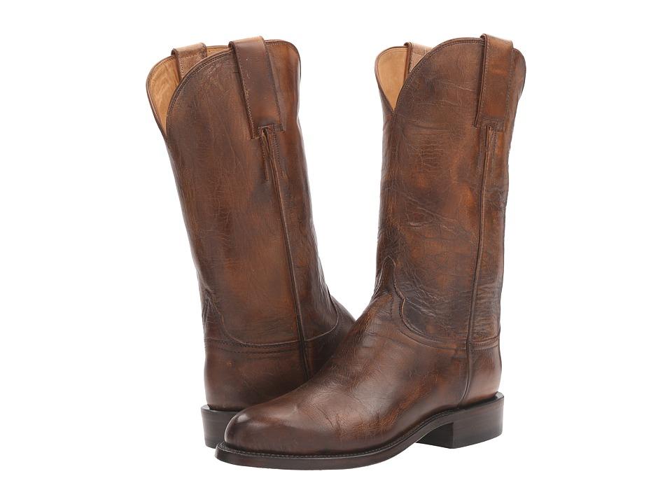Lucchese Blair (Pearl Bone) Cowboy Boots