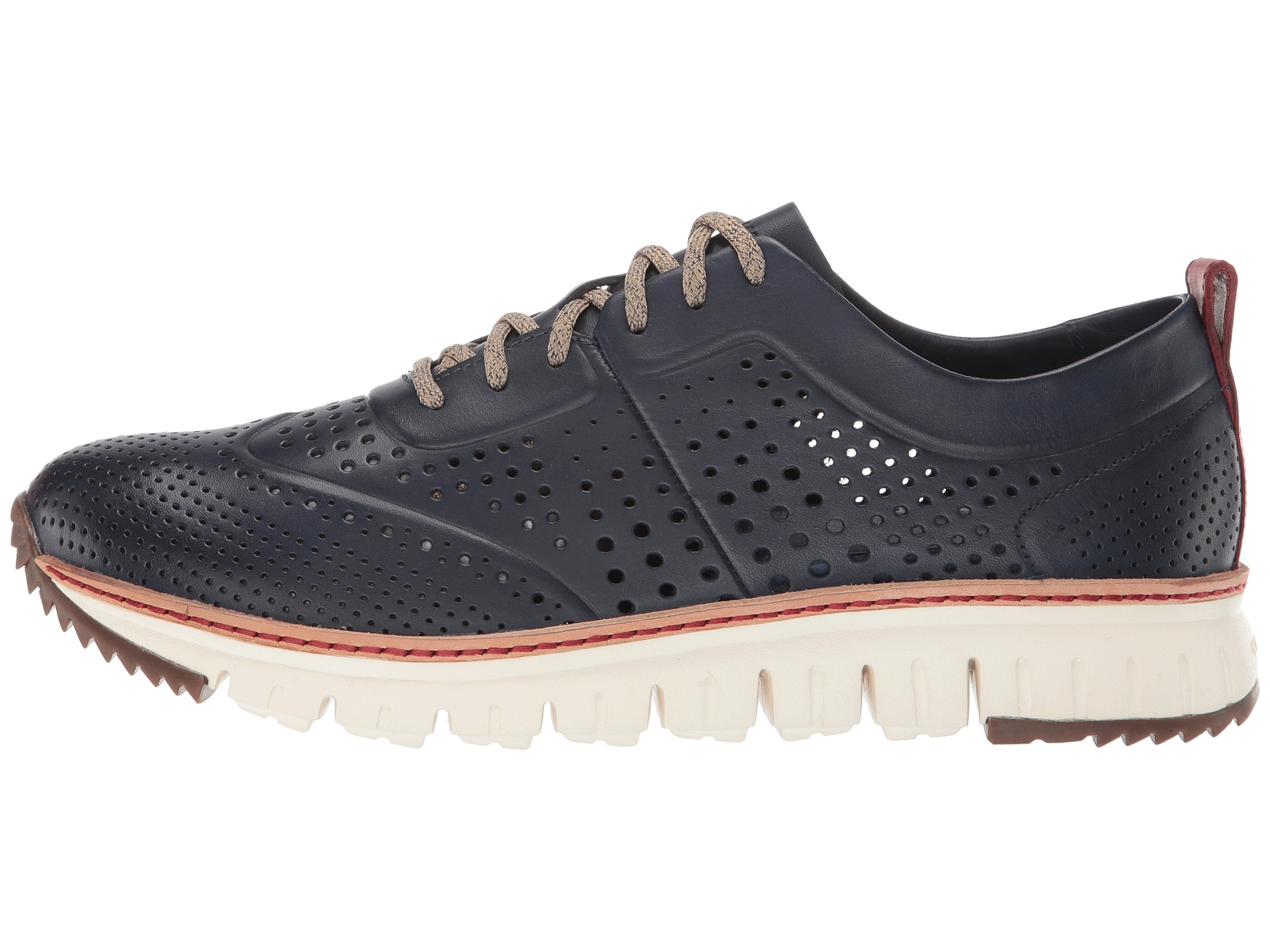 Cole Haan ZeroGrand Perforated Sneakers Zappos Free