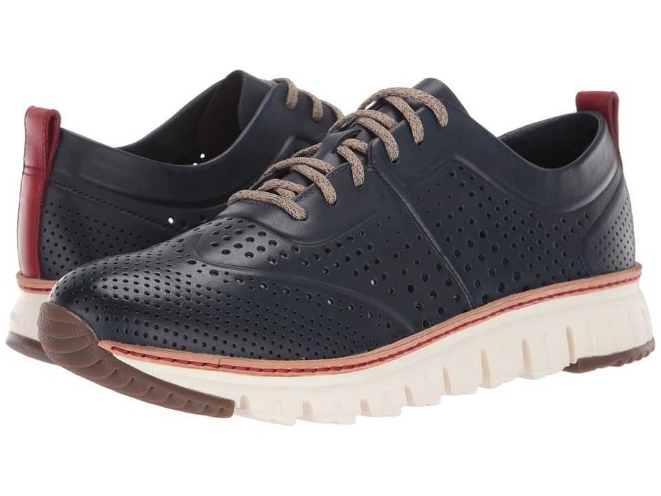 Cole Haan - ZeroGrand Perforated Sneakers (Estate Blue) Men