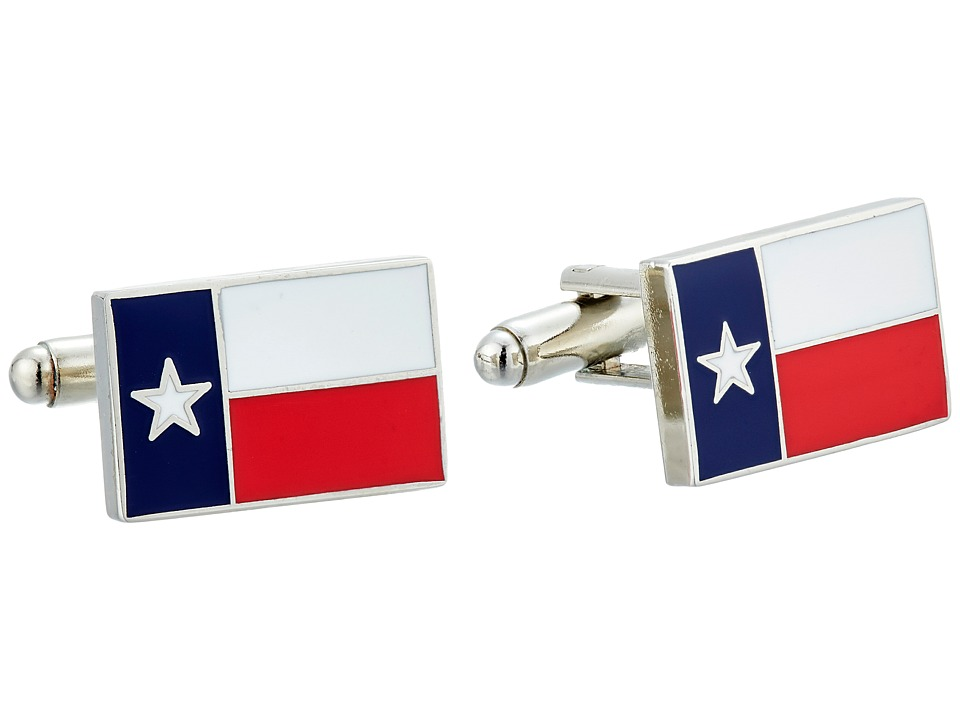 Cufflinks Inc. Texas State Flag Cufflinks Red/Blue Cuff Links