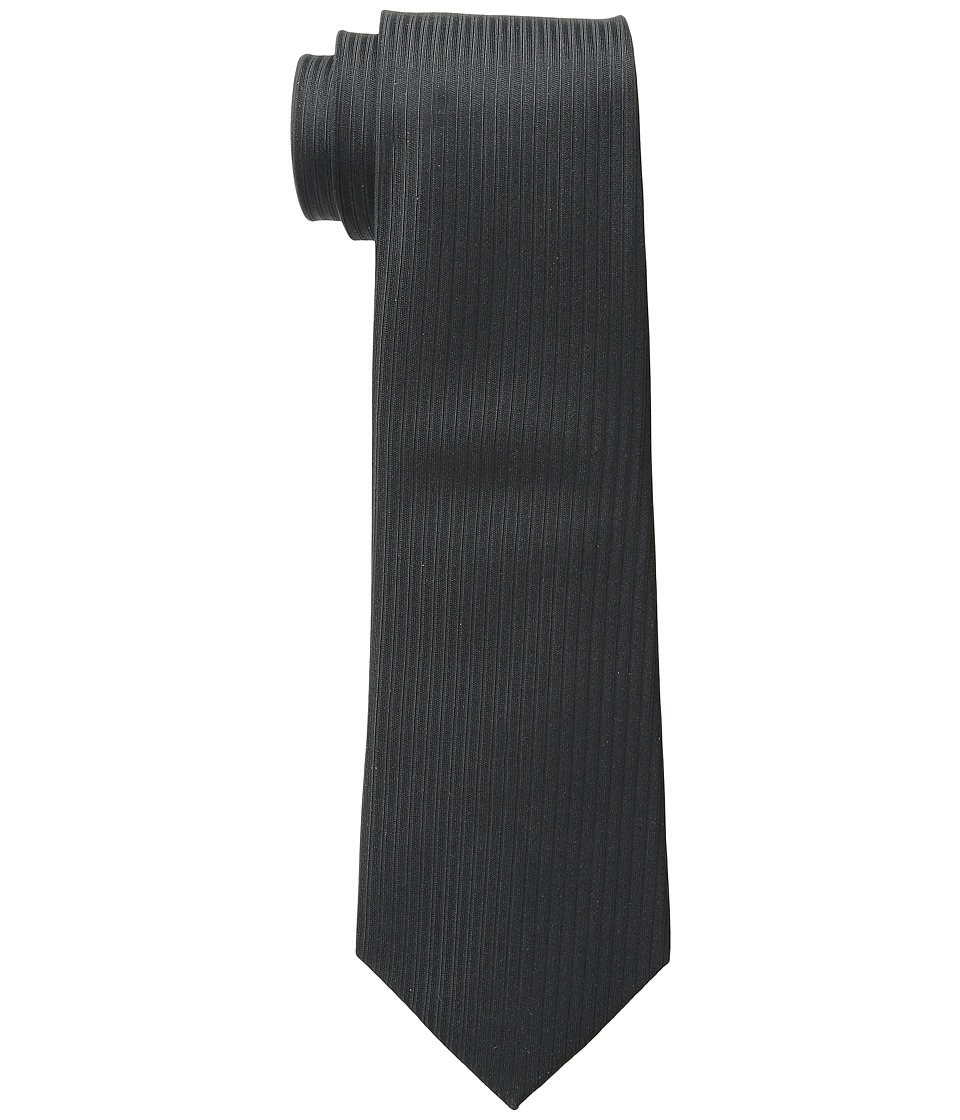 Cufflinks Inc. - Black Formal Pinstripe Silk Tie
