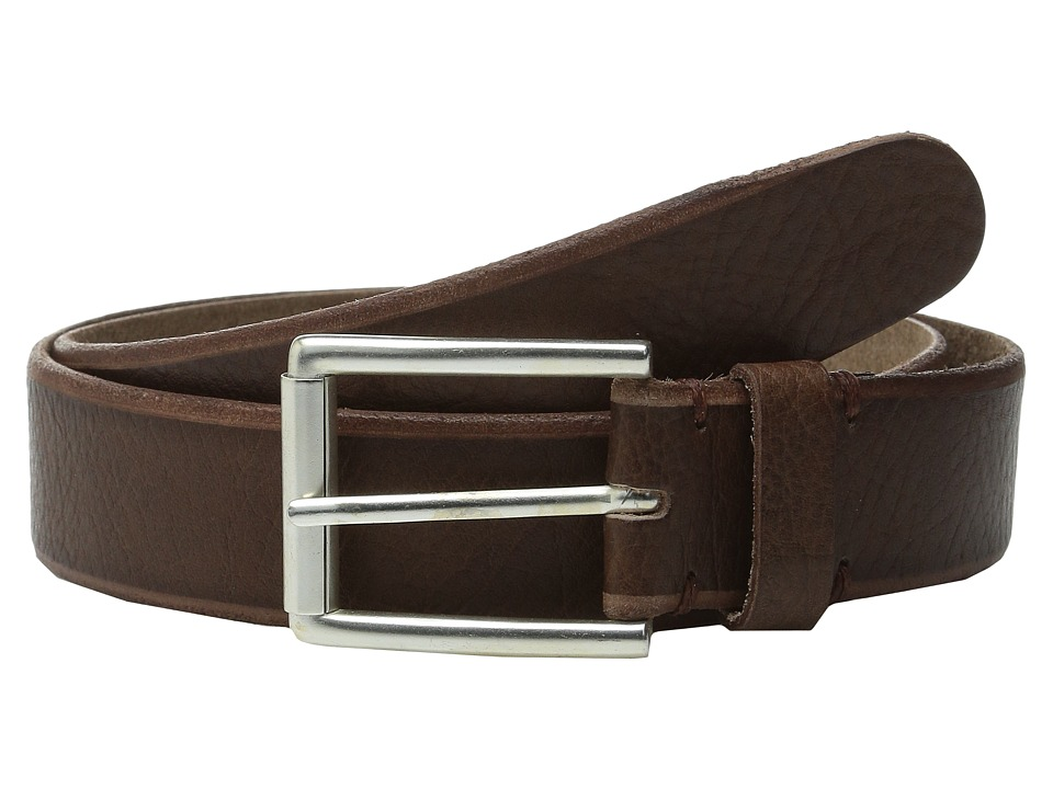 Will Leather Goods 35mm Skiver Brown Mens Belts