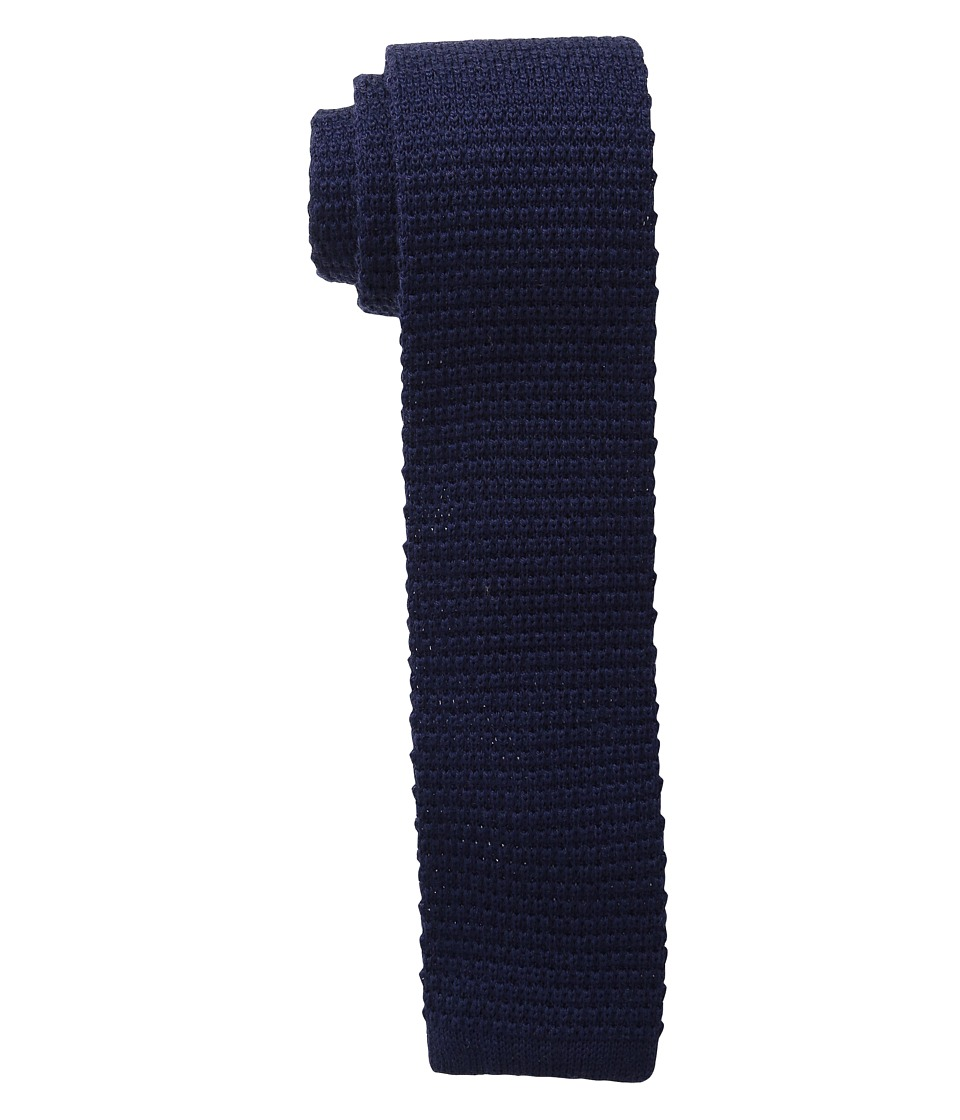 Cufflinks Inc. Solid Silk Knit Tie Navy Ties