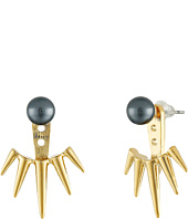 Vince Camuto - Pearl Ear Jacket Earrings
