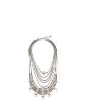 Lucky Brand - Major Bib Clear Quartz Necklace