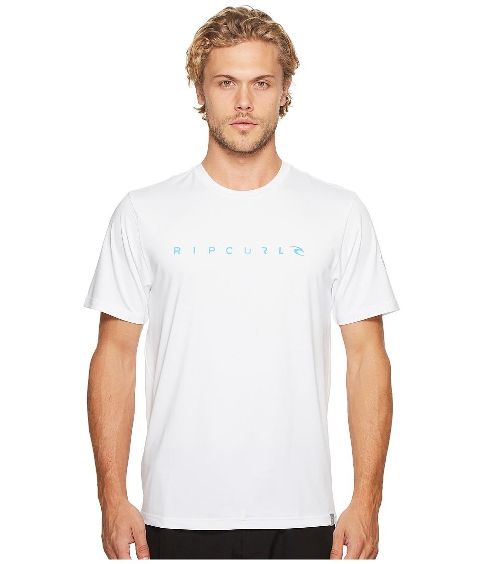 Rip Curl Dawn Patrol Surf Tee Short Sleeve (White) Men