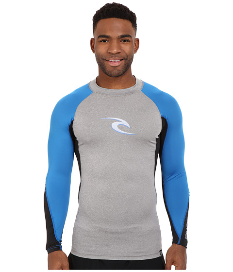 Rip Curl Wave UV Tee Long Sleeve - Grey