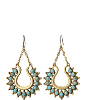 Lucky Brand - Turquoise Spike Earrings