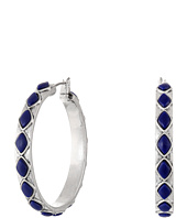 Lucky Brand - Lapis Hoop Earrings