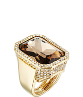 Vince Camuto - Rectangle Stone Drama Adjustable Ring