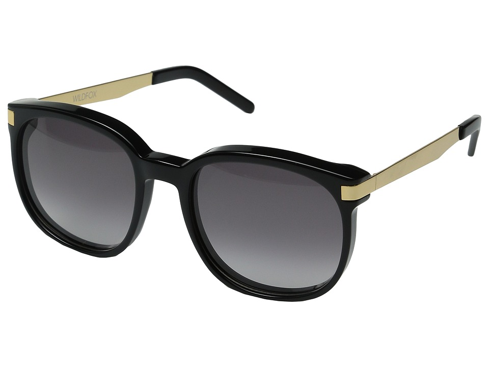 Wildfox Geena Black/Gold/Grey Gradient Fashion Sunglasses