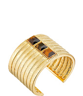 Vince Camuto - Textured Tigers Eye Stone Cuff Bracelet