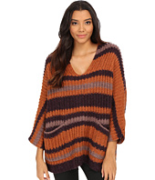 Free People - Stripe Pockets Sweater
