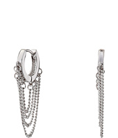 Vince Camuto - Chain Drape Huggy Earrings