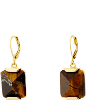 Vince Camuto - Lever Back Tigers Eye Earrings
