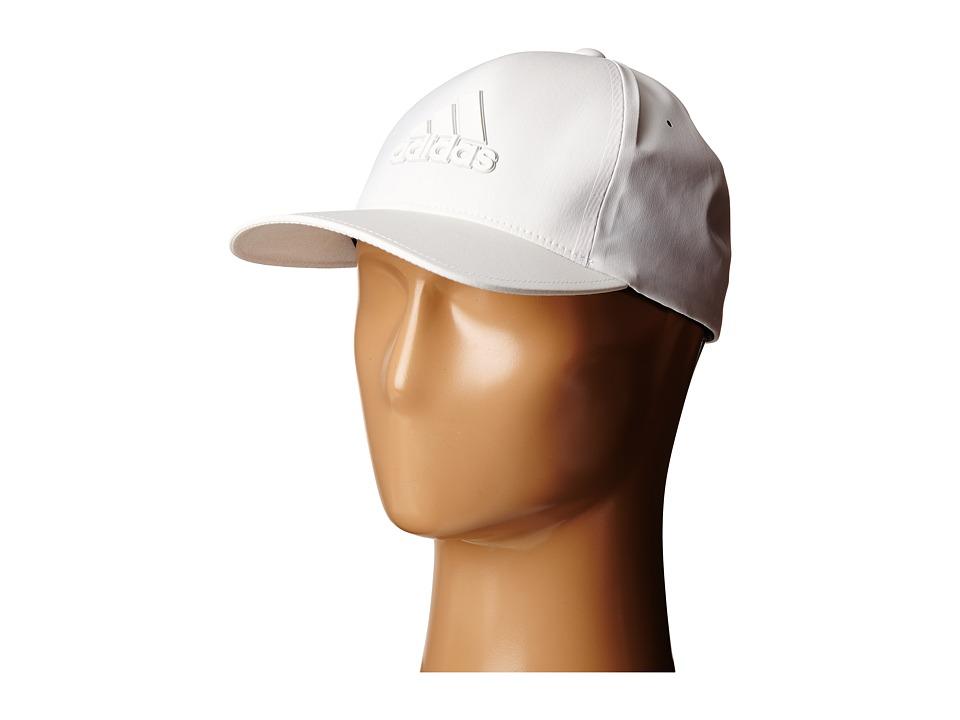 adidas Golf Delta Hat White Caps