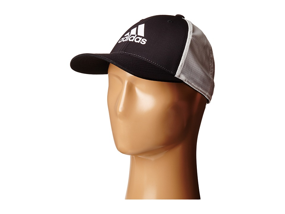 adidas Golf Lightweight CLIMACOOL Flexfit Hat Black/White Caps