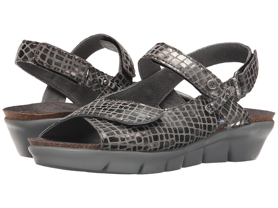 Wolky Twinkle Grey Womens Sandals