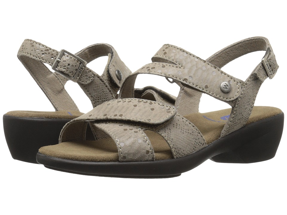 Wolky Fria Taupe Womens Sandals