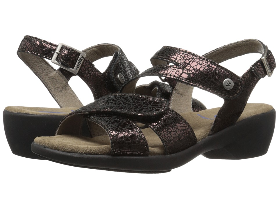 Wolky Fria Brown Womens Sandals
