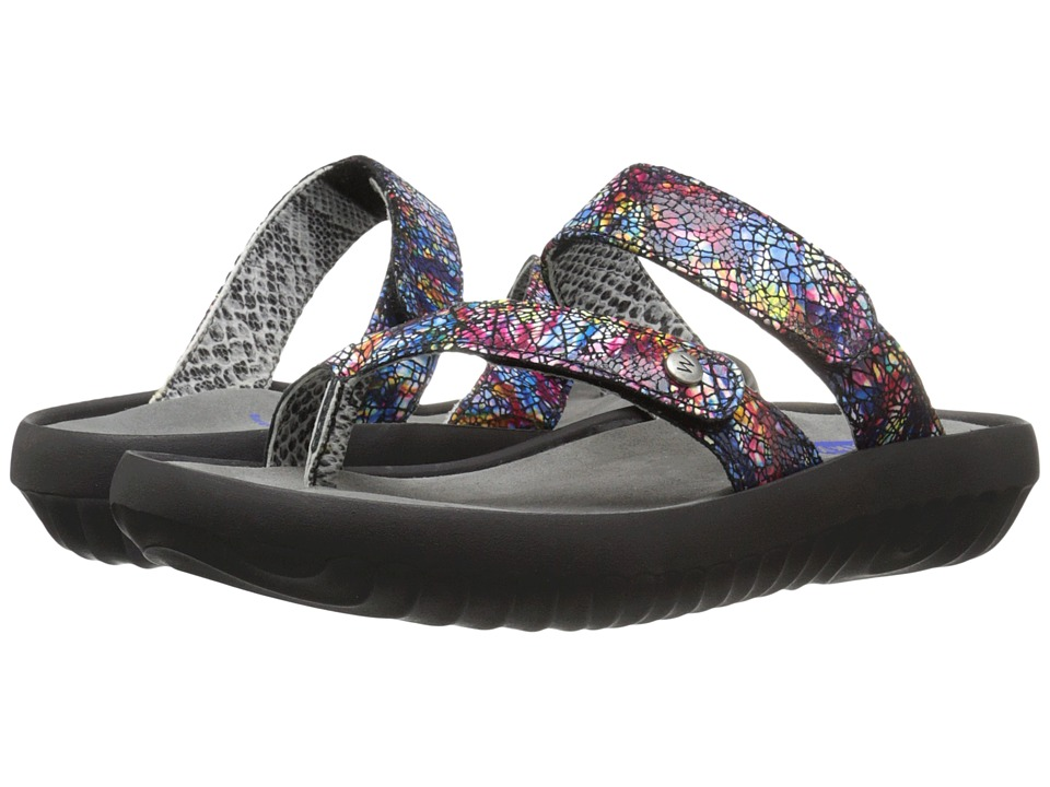 Wolky Bali Multi Black Womens Sandals